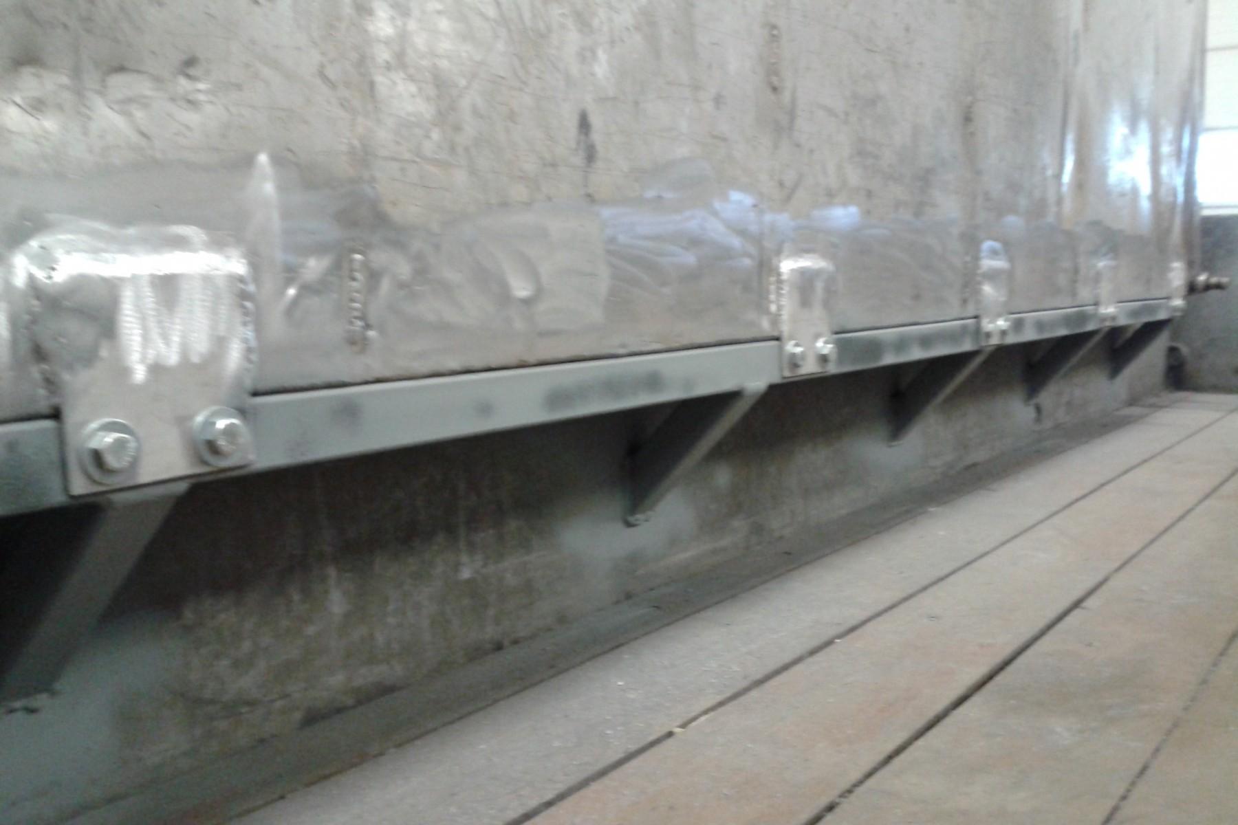 Reparatie waterbak - VDB Metaal en Techniek